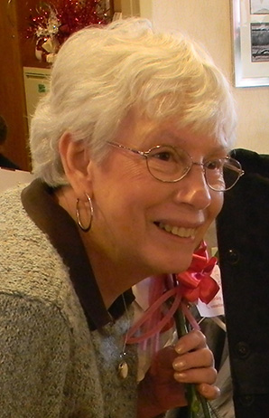 carolyn hutchings at her Retirement Celebration