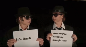 I Wear My Sunglasses at Night Video Link